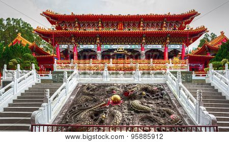 The Syuentzang Temple (Holy Monk Shrine). Taiwan