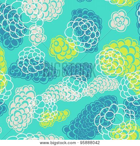 Sector seamless pattern. Repeating abstract background.