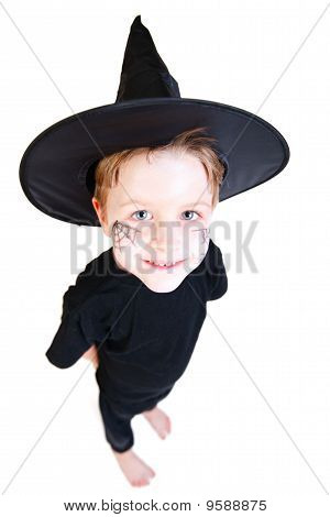 Boy In Halloween Costume