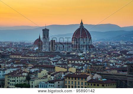 Florence city skyline - Italy