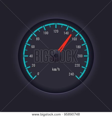 Vector Speedometer Design