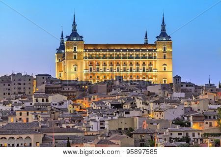 The Alcazar Of Toledo, Spain