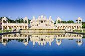 stock photo of hindu  - Hindu Temple in Atlanta - JPG