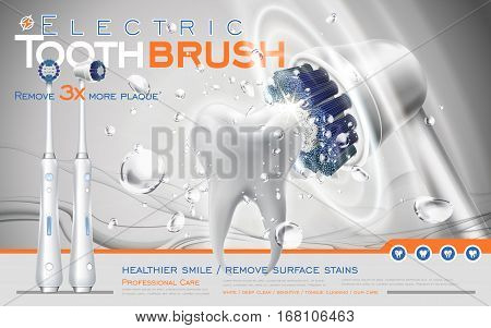 Electric Toothbrush Ad
