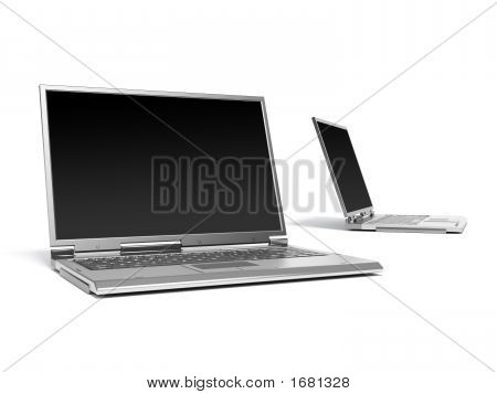 Two Laptop Computers