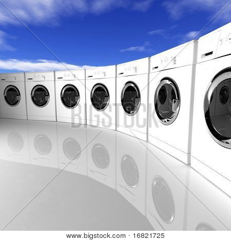 washing machine background