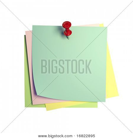 fine image 3d of isolated paper sticker on white background