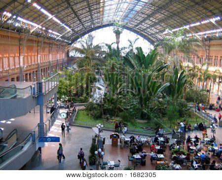 Atocha Railway Station, Madrid