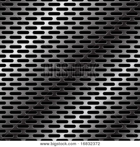 metal grid - vector seamless background