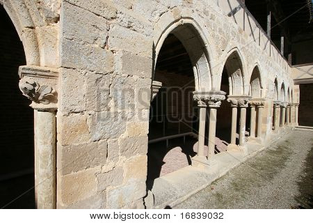 Fragment of cloister