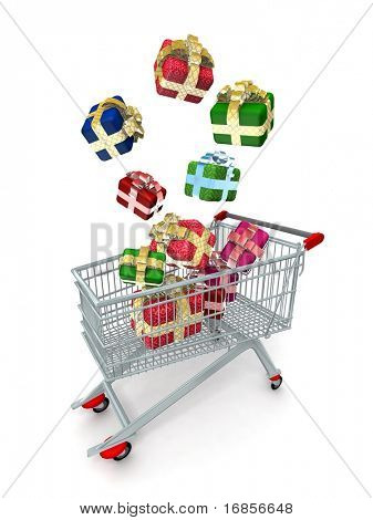 Shopping Cart Gifts