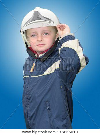 Young fireman