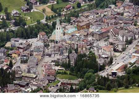 "Cortina d'Ampezzo is the most charming ski resort in Italy. Cortina is also known as the ""Regina delle Dolomiti"" - Queen of the Dolomites - since it is in the heart of the wonderful Dolomites."