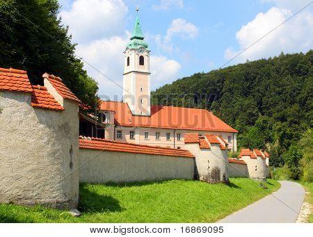 Weltenburg Abbey (Kloster Weltenburg) is a Benedictine monastery in Weltenburg in Kelheim on the Danube in Bavaria, Germany.