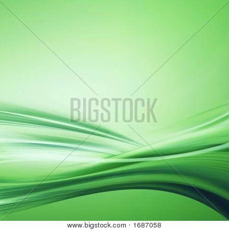Green Water Illustration