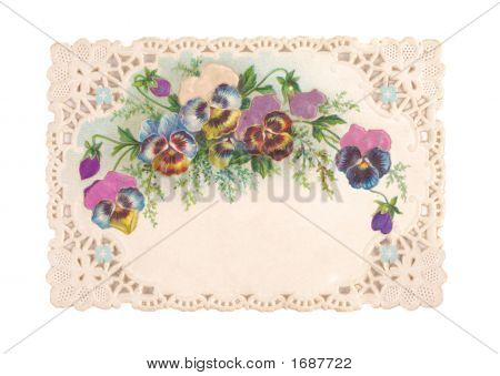 Old-Fashioned Postcard