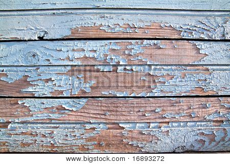 aging wooden wall