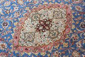 picture of tabriz  - detail of classic carpet - JPG
