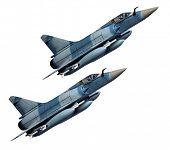 picture of afterburner  - Two jets - JPG