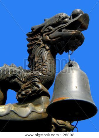 Dragon Head With Bell