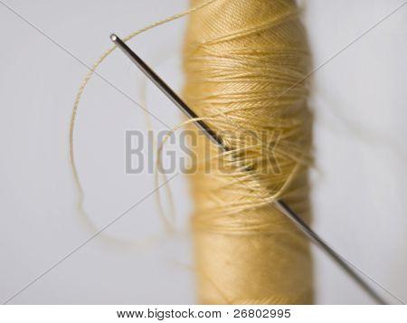 Needle in the yellow bobbin