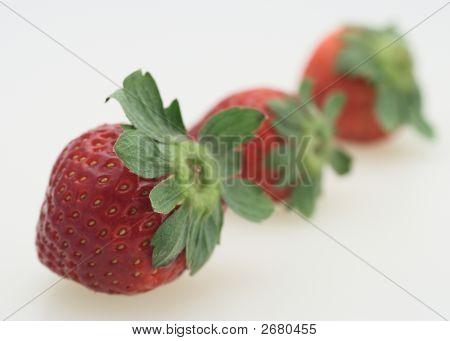 Three Strawberry
