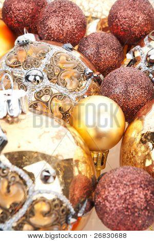 Luxurious Christmas Still Life.