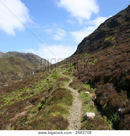 Uphill Walking Path