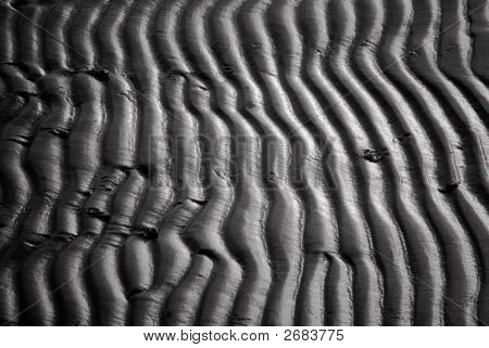 Sand Formation On Beach