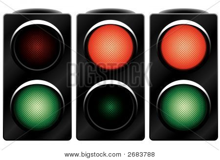 Traffic Light. Variants.