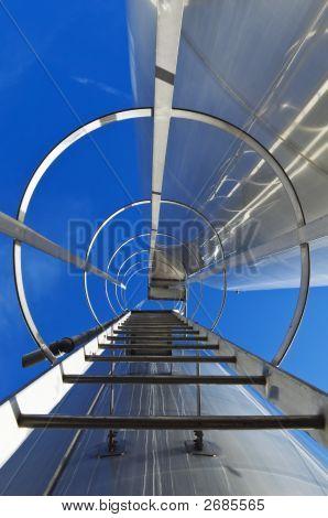 Stainless Steel Stairway