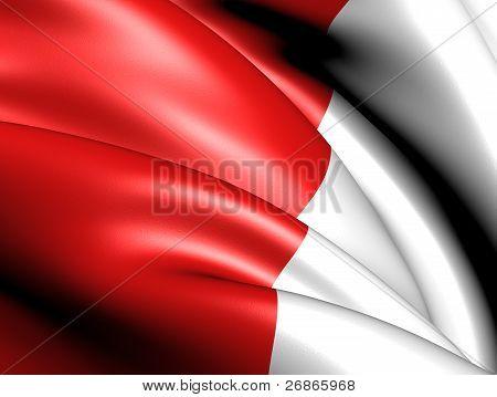 Flag of Tournai Wallonia