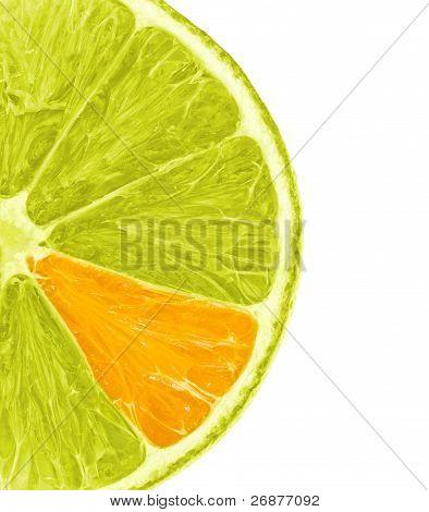 Orange Lemon Slice