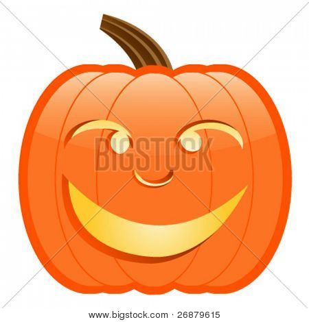 Cartoon Jack-O-Lantern
