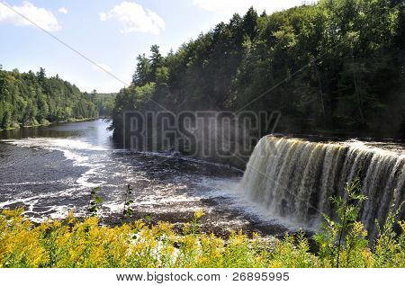 Upper Tahquamenon Falls in Michigan