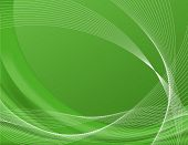 Green background complete with wire frames, perfect for templates; contains gradient meshes only edi