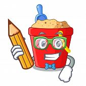 Student Beach Bucket Shape The Fun Character poster
