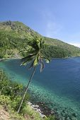 picture of camiguin  - tropical coastline of camiguin island mindanao the philippines - JPG