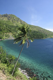 stock photo of camiguin  - tropical coastline of camiguin island mindanao the philippines - JPG