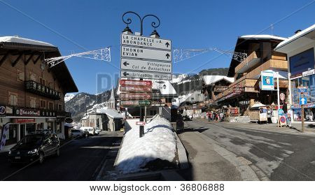 Signs  Identify The Towns Of The Haut Savoie