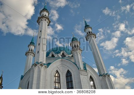 The Qolsharif Mosque