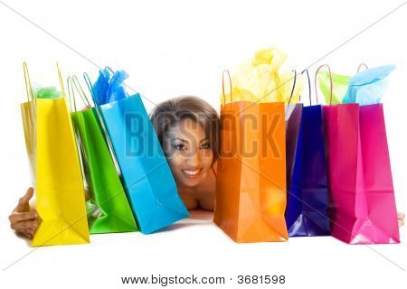 Shopping Black Woman