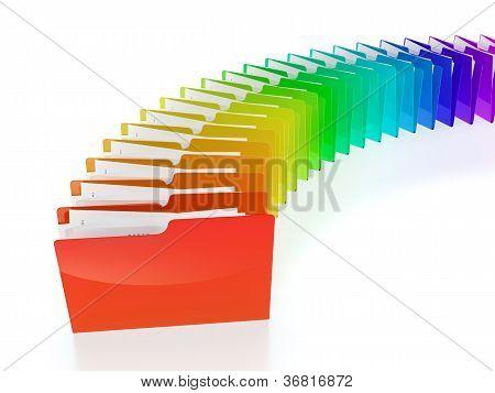 Folder Row