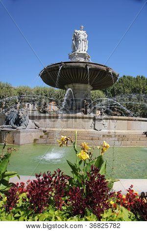Fountain In Aix En Provence