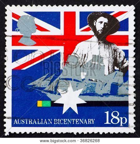 Postage Stamp Gb 1988 Australian Colonist
