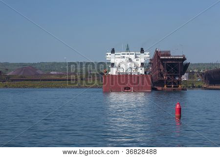 Ship In Harbor