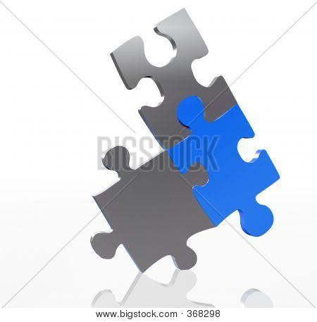 Balancing puzzelstukjes