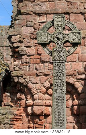Cross on Lindisfarne