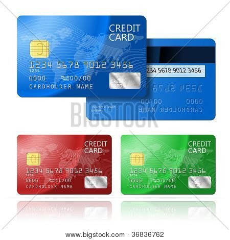 Credit Card 2 sides
