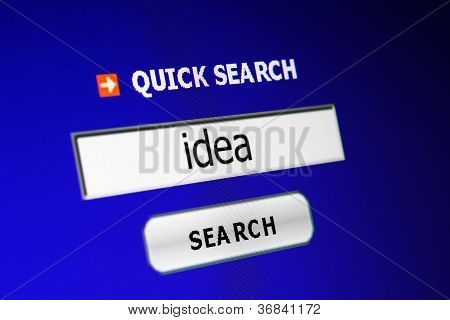 Search For Idea